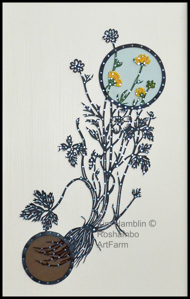 """Creeping Buttercup Approx 12""""x19"""" SOLD"""