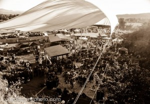 Arial of grounds at the Wildwood MusicFest Photo by Chad Lanning